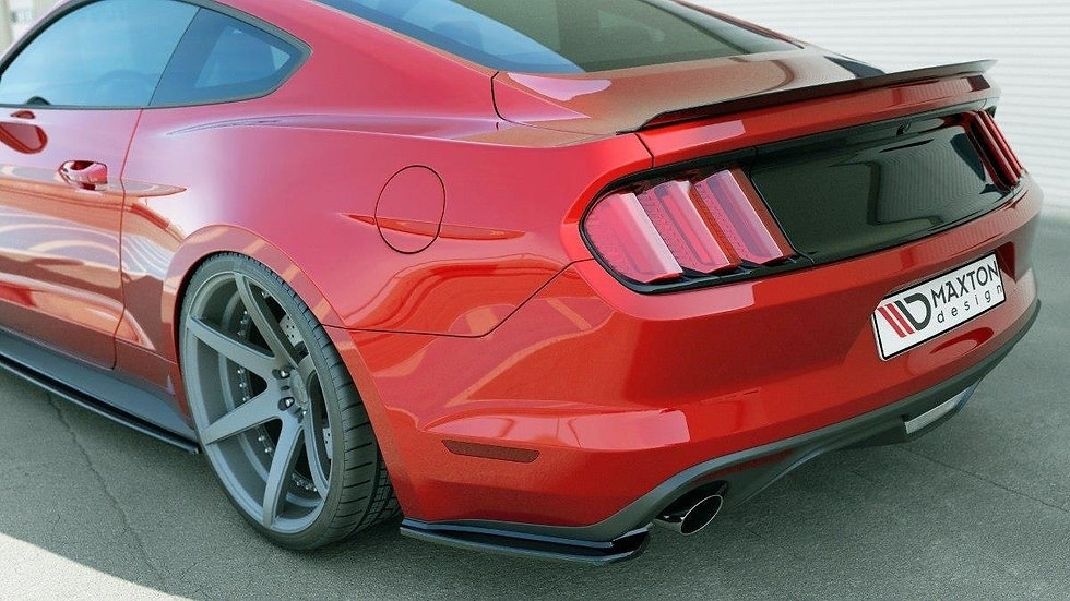 FORD MUSTANG MK6 REAR SIDE SPLITTERS