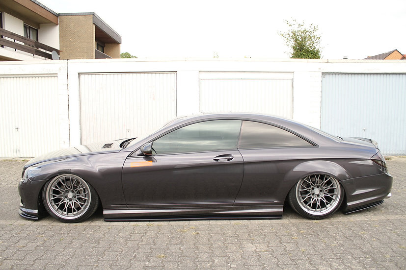 MERCEDES CL 500 C216 AMGLINE SIDE SKIRTS DIFFUSERS