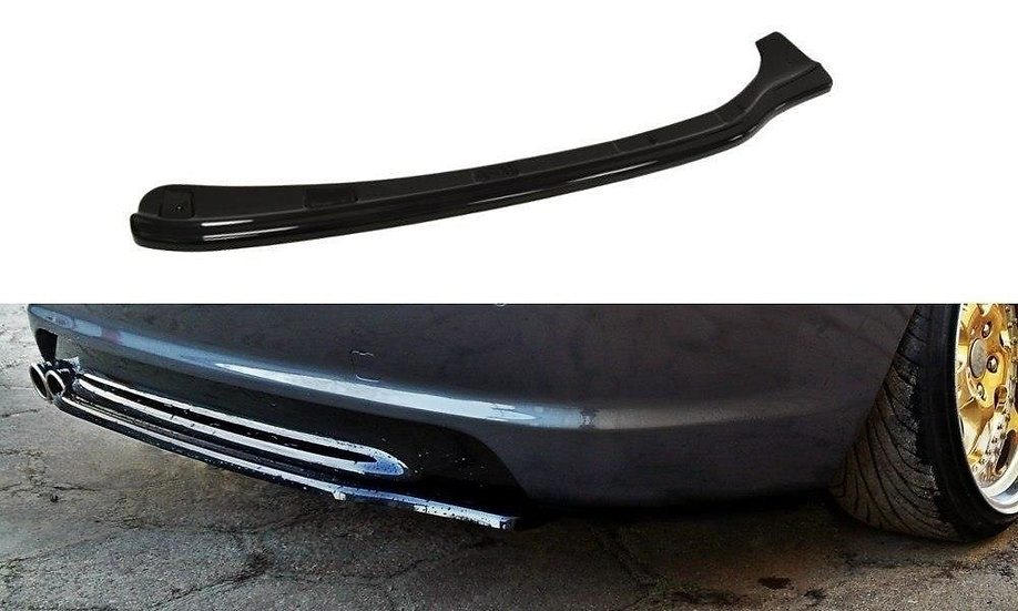 BMW 3 E46 MPACK COUPE CENTRAL REAR SPLITTER  (WITHOUT VERTICAL BARS)