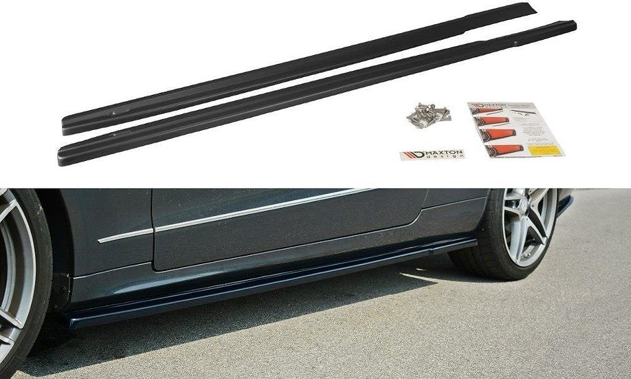 MERCEDES E W212 SIDE SKIRTS DIFFUSERS
