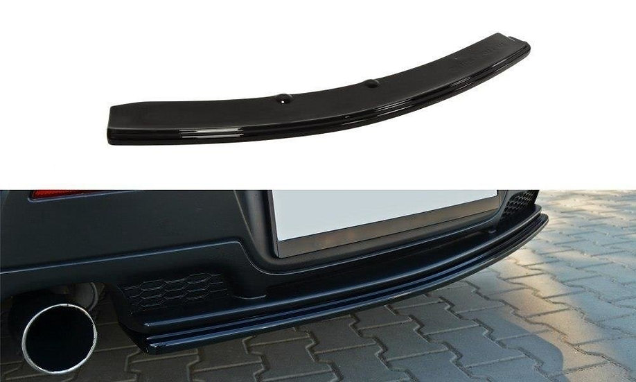 MAZDA 3 MPS MK1 PREFACE CENTRAL REAR SPLITTER  (WITHOUT VERTICAL BARS)