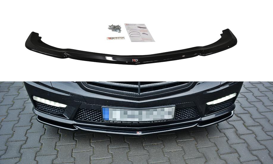 MERCEDES-BENZ E63 AMG W212 FRONT SPLITTER V.1