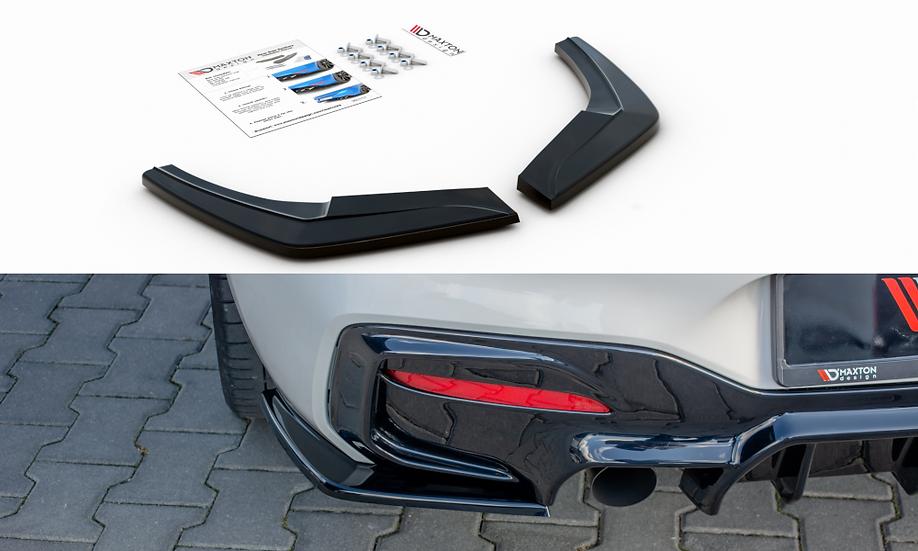 BMW 1 F20 FACELIFT M-POWER REAR SIDE SPLITTERS