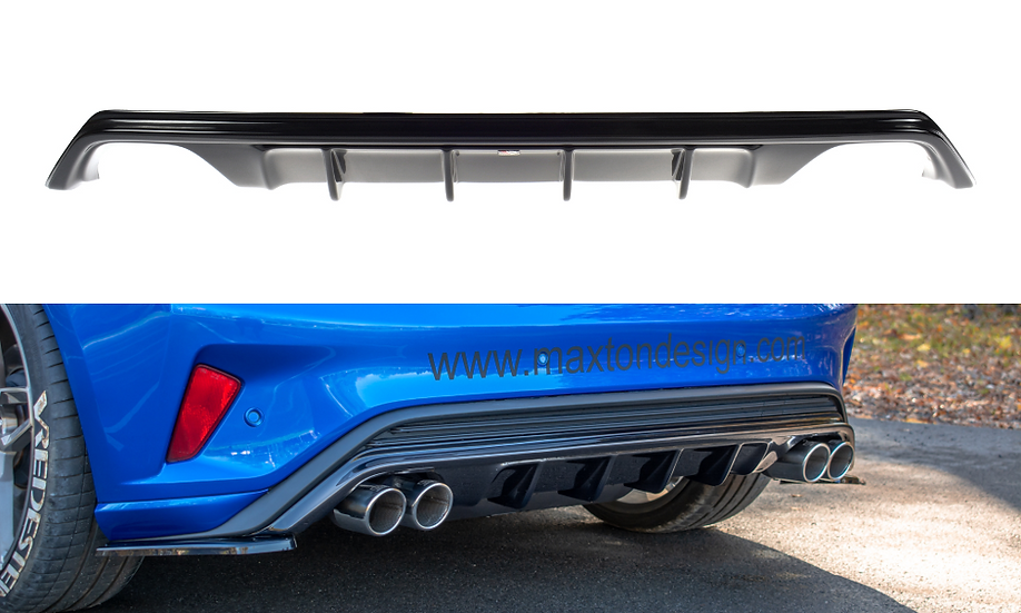 FORD FOCUS MK4 ST-LINE REAR VALANCE WITH EXHAUST