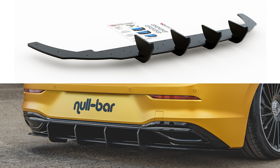 VW GOLF 8 RACING DURABILITY REAR DIFFUSER V.1