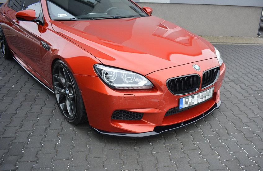 BMW M6 GRAN COUPÉ FRONT SPLITTER