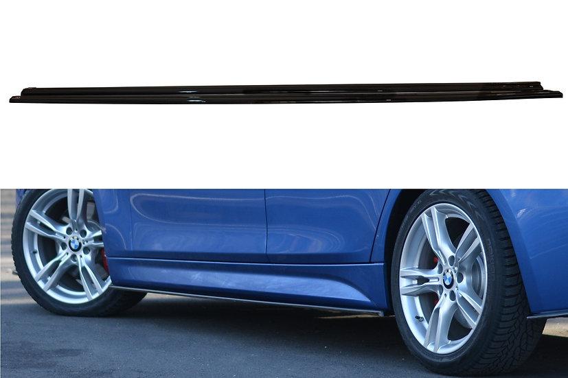 BMW 3-SERIES F30 PHASE-II SEDAN M-SPORT SIDE SKIRTS DIFFUSERS