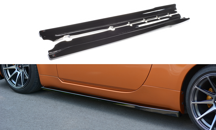 NISSAN 350Z SIDE SKIRTS DIFFUSERS
