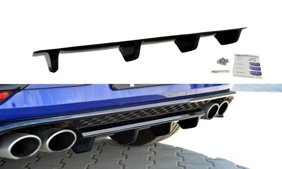 VW GOLF MK7 R CENTRAL REAR SPLITTER