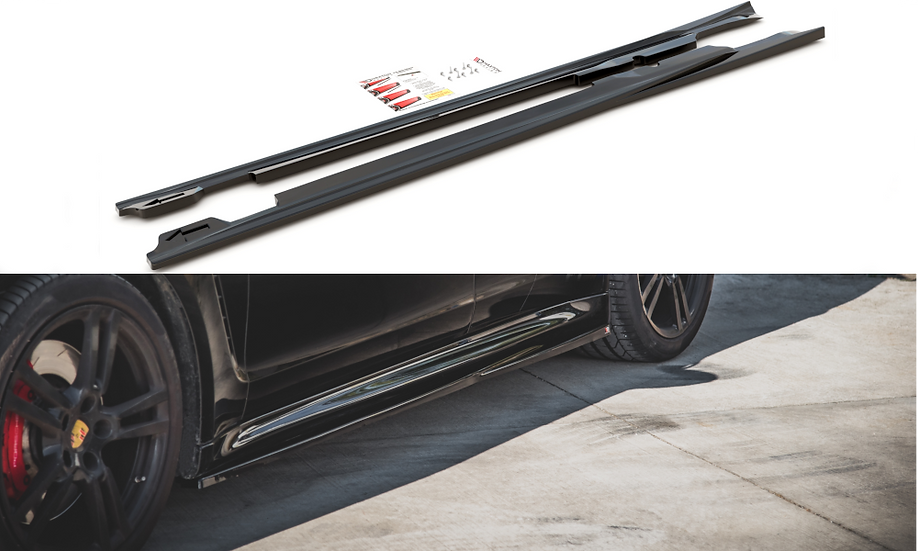PORSCHE PANAMERA TURBO 970 FL SIDE SKIRTS DIFFUSERS V.1