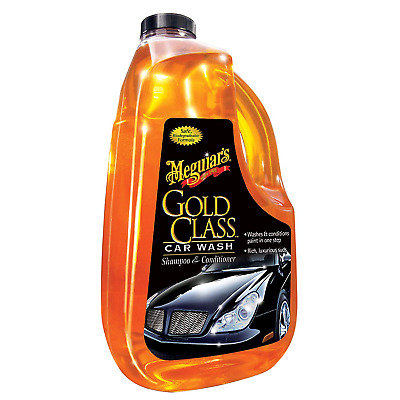 Mequiar's Gold Class Car Wash Shampoo & Conditioner / 1.89L