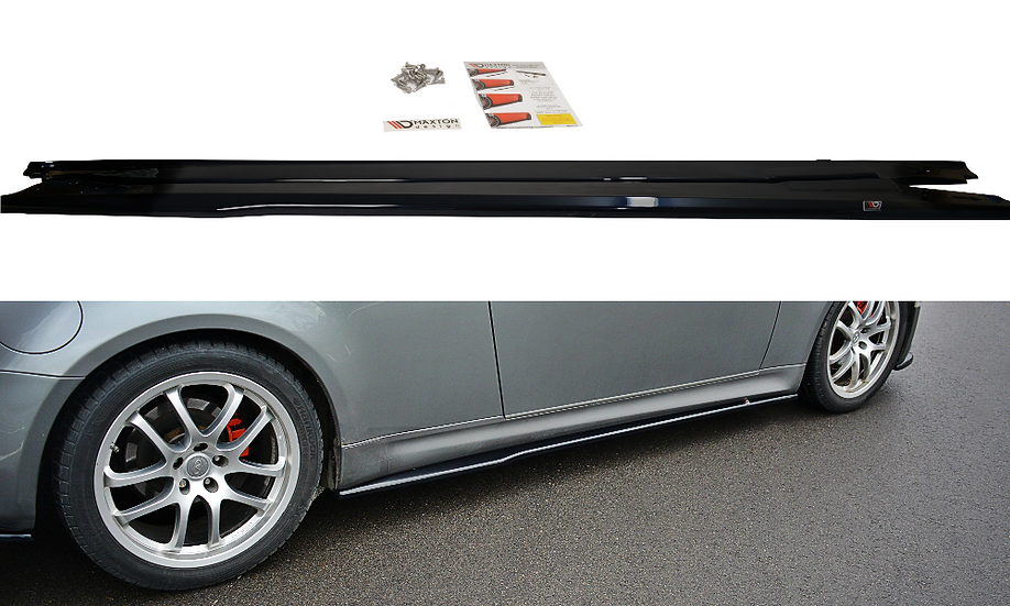 INFINITI G35 COUPE SIDE SKIRTS DIFFUSERS