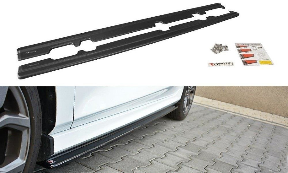 FORD FIESTA MK8 ST ST-LINE SIDE SKIRTS DIFFUSERS