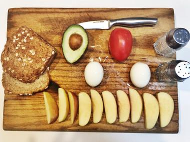 OPEN EGG + AVOCADO SANDWICH