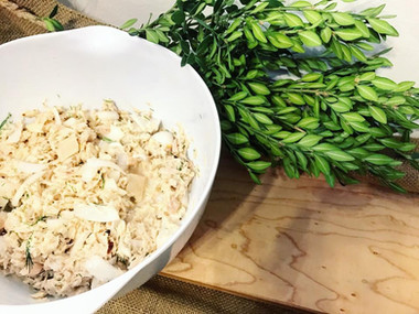 Cooking With Emma // Lemon, Dill Tuna Salad