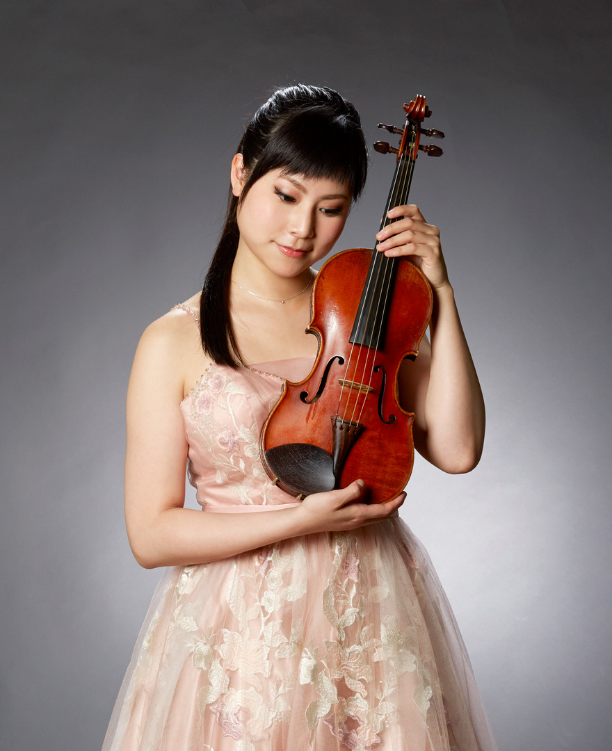 Violinist Mayuko Ishigami
