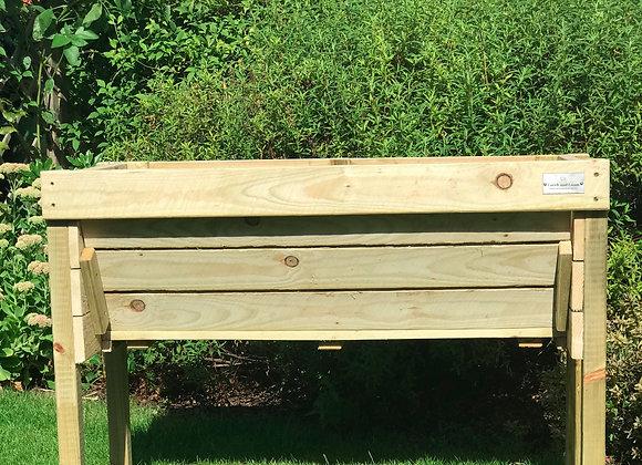 The Original Rustic Veg Trough handmade wooden garden planter