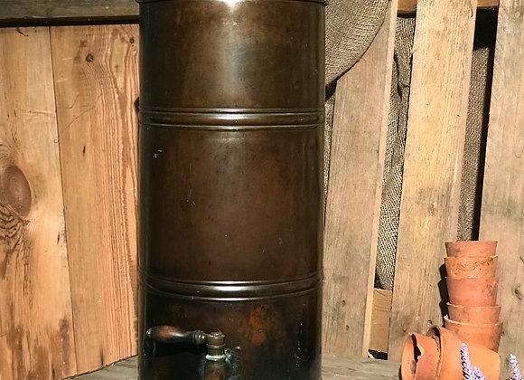 Honey Ripener vintage metal water butt