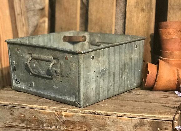 Vintage Square Storage Box Planter