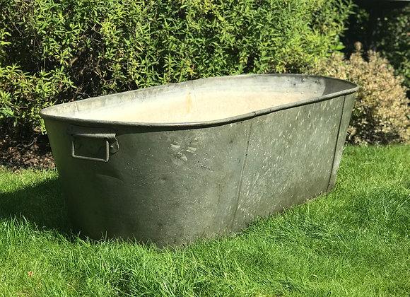 Large Tin Bath garden planter