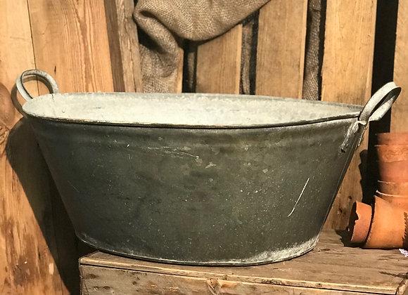 Tin Bath garden planter