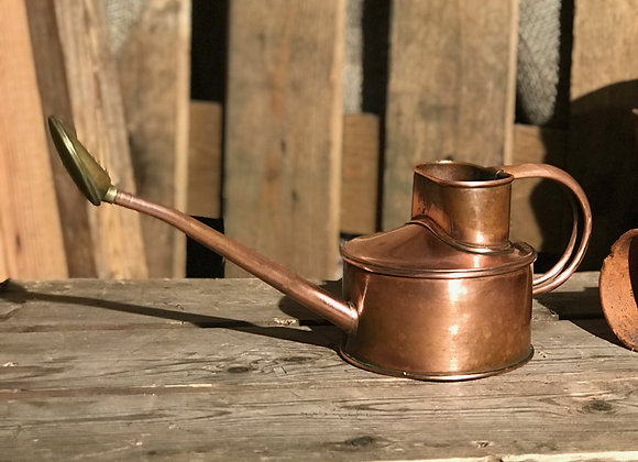 Vintage Copper Haws Indoor Watering Can