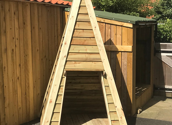 Hand Crafted Wooden Teepee