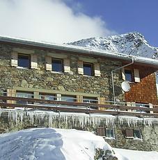 Wangenitzseehütte Winter