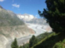 Aletsh Glacier Canton Wallis LondonSwissMedical