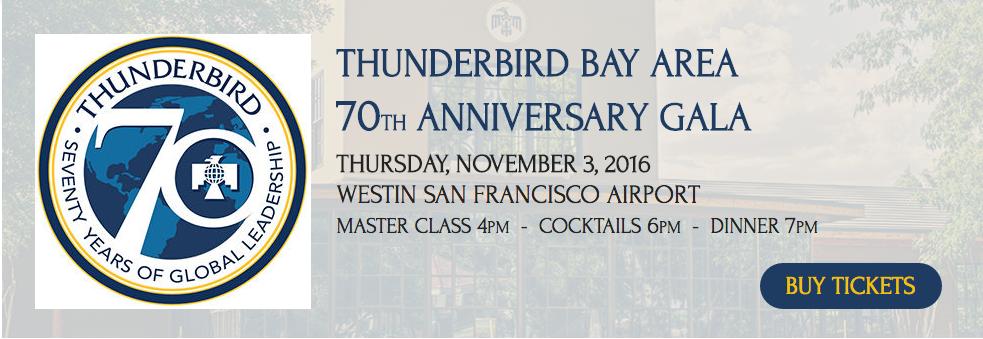 Thunderbird Bay Area Gala 2016