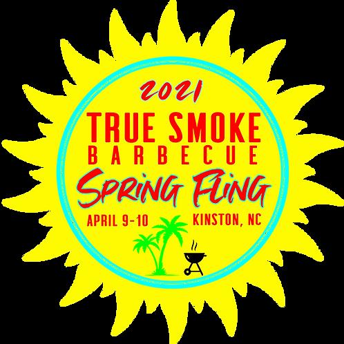 TRUE SMOKE Spring Fling 2021 DECAL