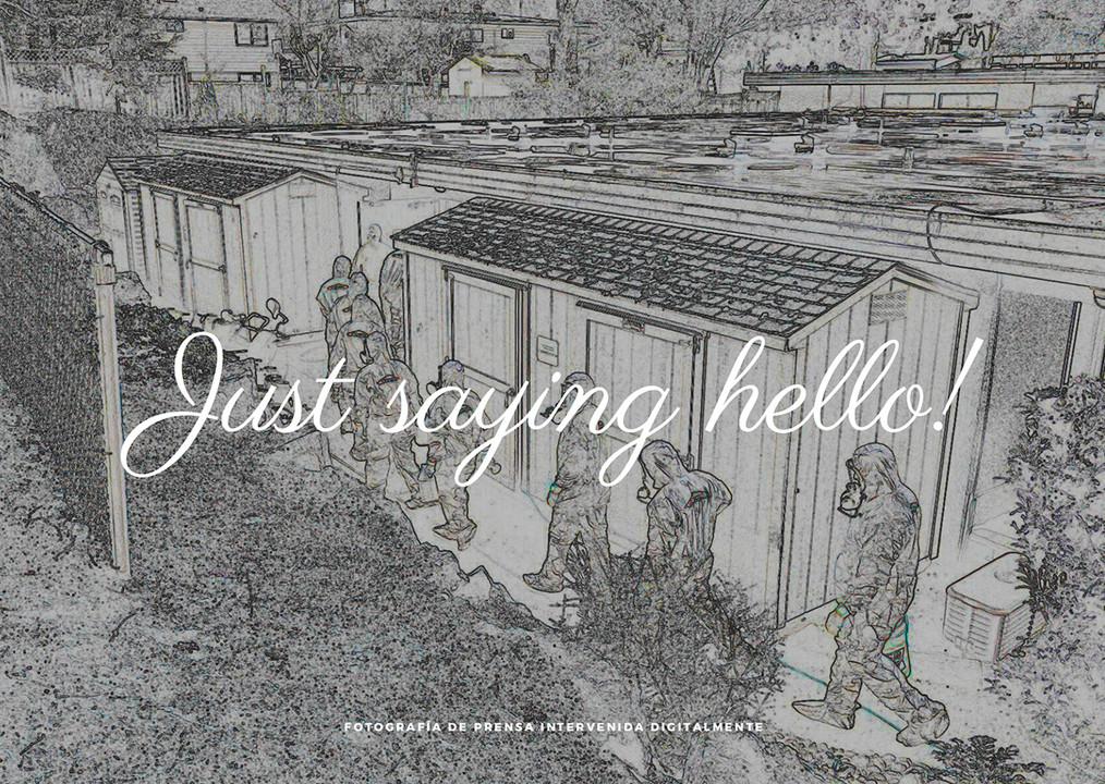 Just saying hello
