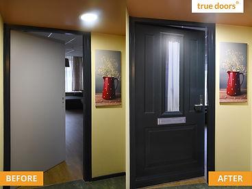 True doors sticker for residents
