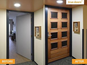 custom made doors for senior home