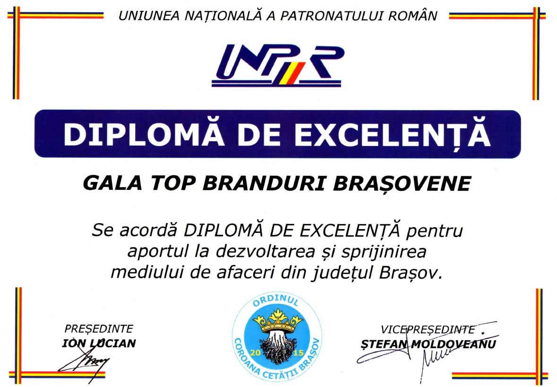 DIPLOMA EXCELENTA 2015