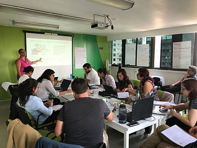 Oxfam M&E capacity building session 1 - Mexico
