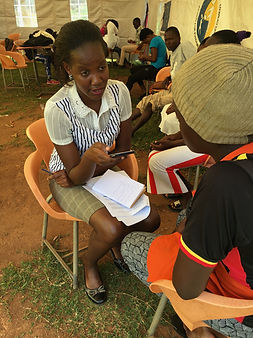 IOM migrant vulnerability project, surveying potential migrants - Uganda