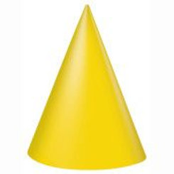 Hat Party Yellow 8C