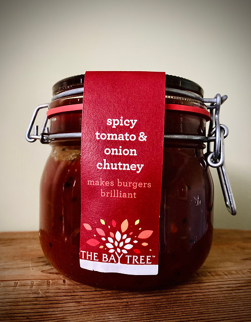 Spicy Tomato & Onion Chutney Kilner Large 600g