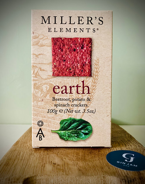 Boxing Day Beauties! Earth Beetroot, Potato & Spinach Crackers 100g