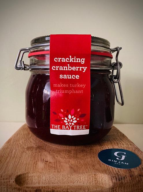 Crackling Cranberry Sauce Kilner Large 570g & Suitable for vegetarians.