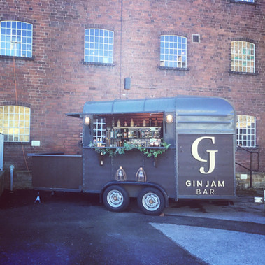 Mobile bar hire - wedding fair