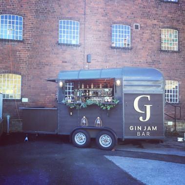 Mobile bar hire - wedding fair