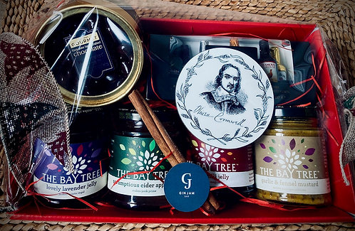 Our Oliver Cromwell Packed Hamper Of Fine Delights
