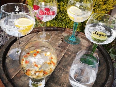 Branded Gin Glassware Available for Hire