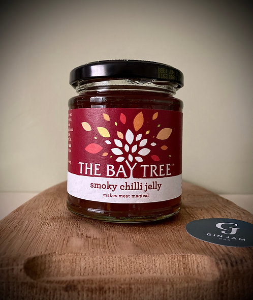 Smoky Chilli Jelly & Suitable for Vegetarians. 210g