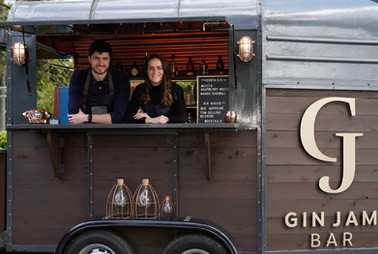 Mobile gin bar for hire