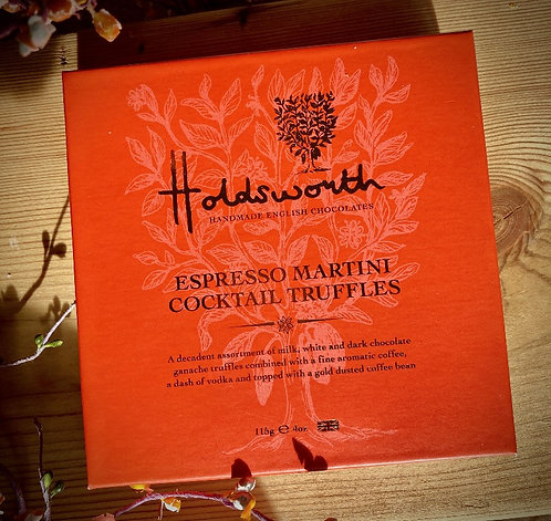 HeavenlyHoldsworth Espresso Martini Cocktail Truffles 115g