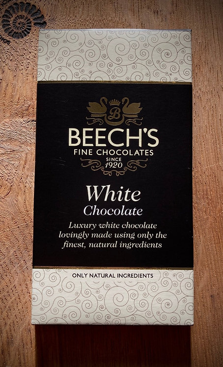 Luxury White Chocolate Bar 60g. Buy 5 get on Free!
