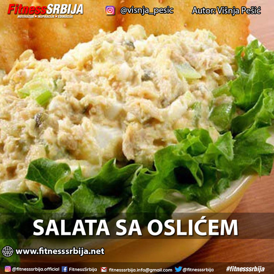 Salata sa oslićem